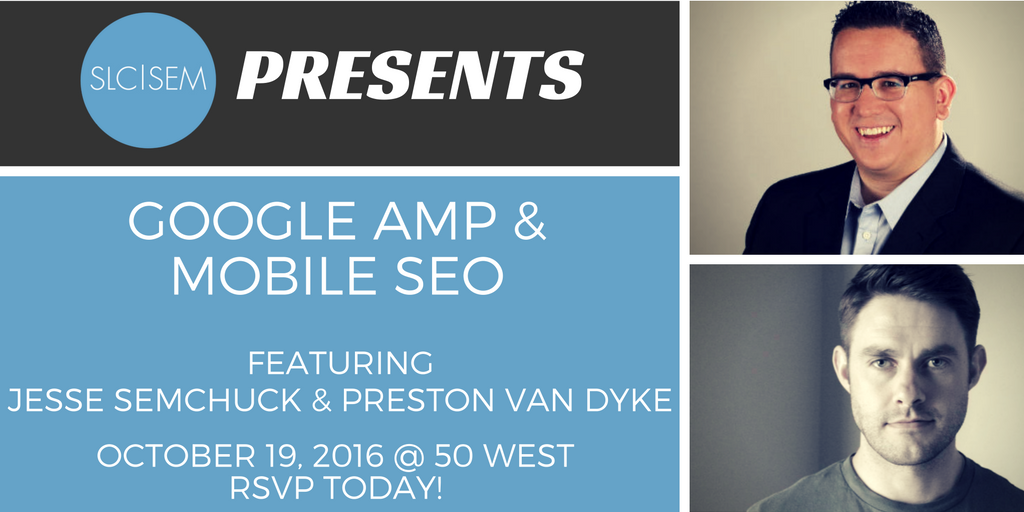 [Recap] Google AMP & Mobile SEO - October 2016