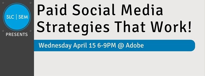 [RECAP] Paid Social Media Strategies That Work